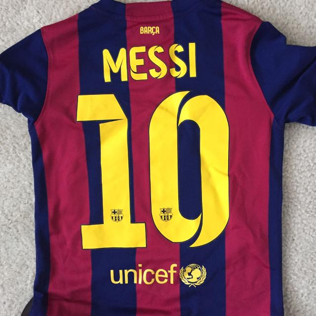reputable site 46b62 22051 Lionel Messi FC Barcelona Jersey