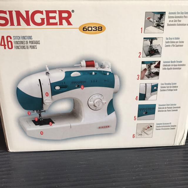 Find More Singer 40 Sewing Machine For Sale At Up To 40% Off Best Singer Sewing Machine 6038