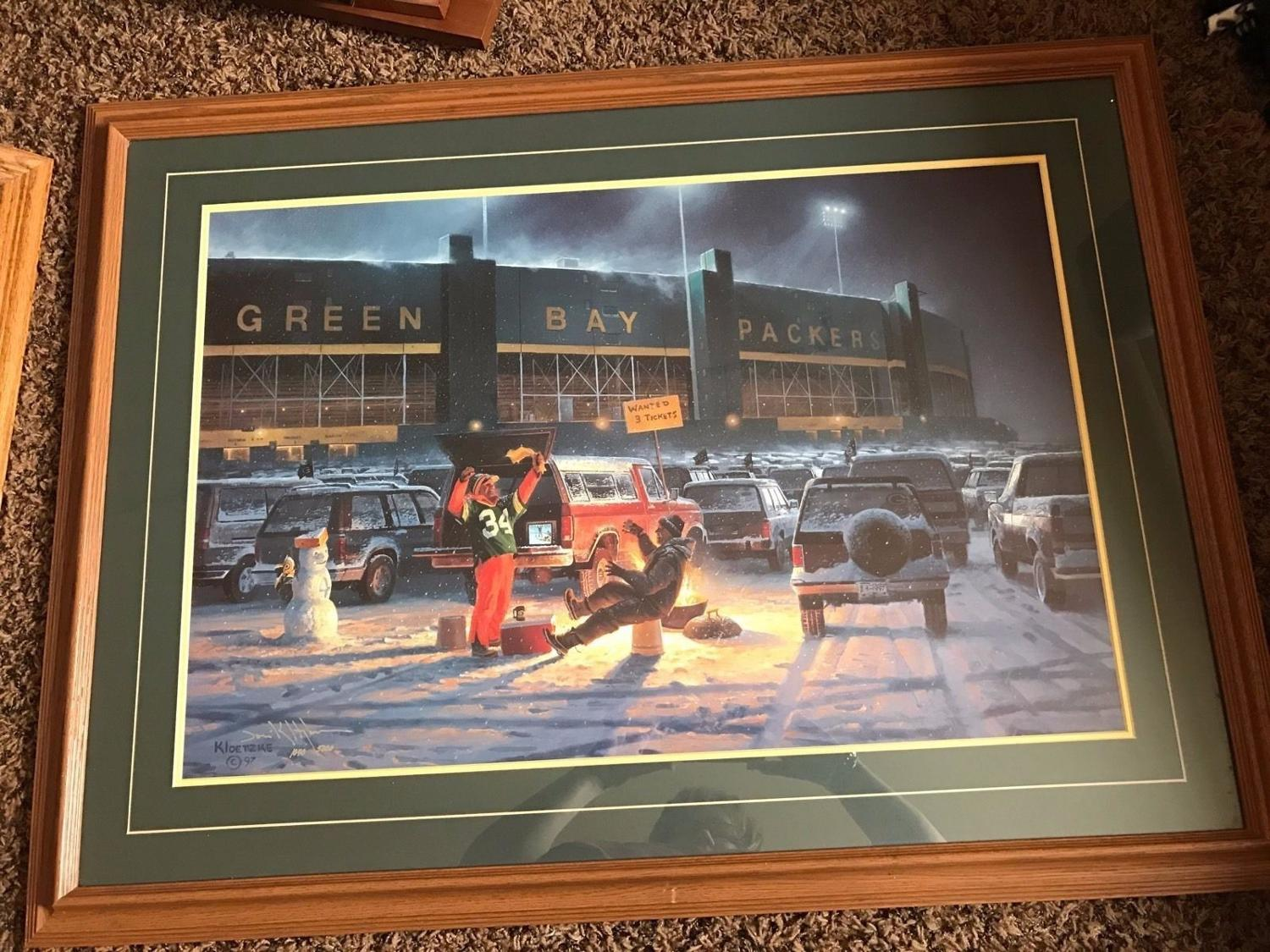 Find More Limited Edition Die Hards Green Bay Packers