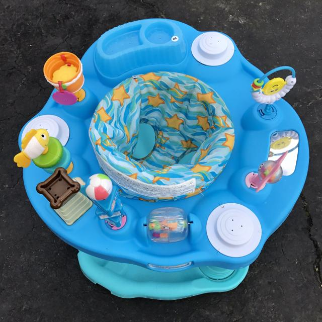 Find more Evenflo Beach Baby Ocean Exersaucer for sale at ...
