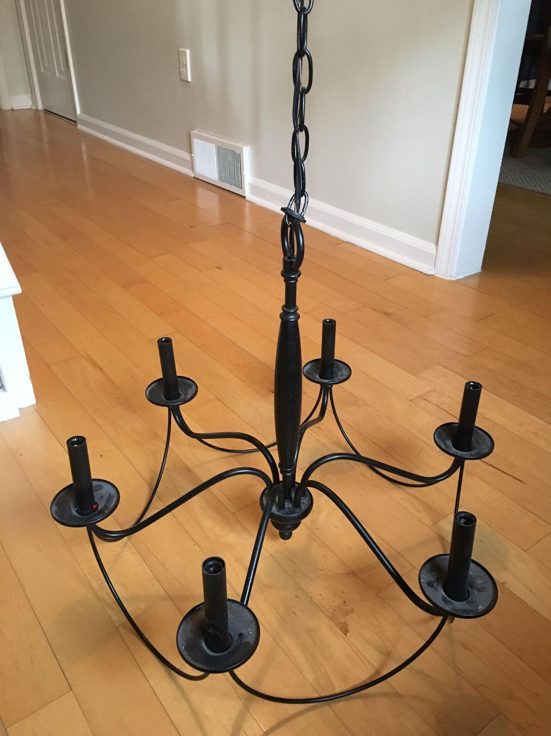 Find more Pottery Barn Graham Chandelier for sale at up to ...
