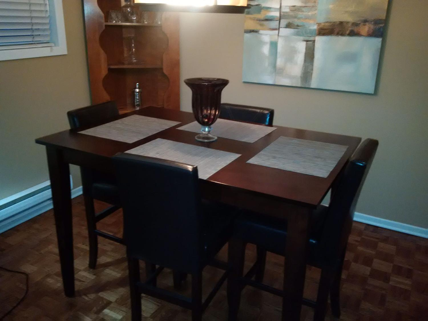 best must go pub style dining room set for sale in