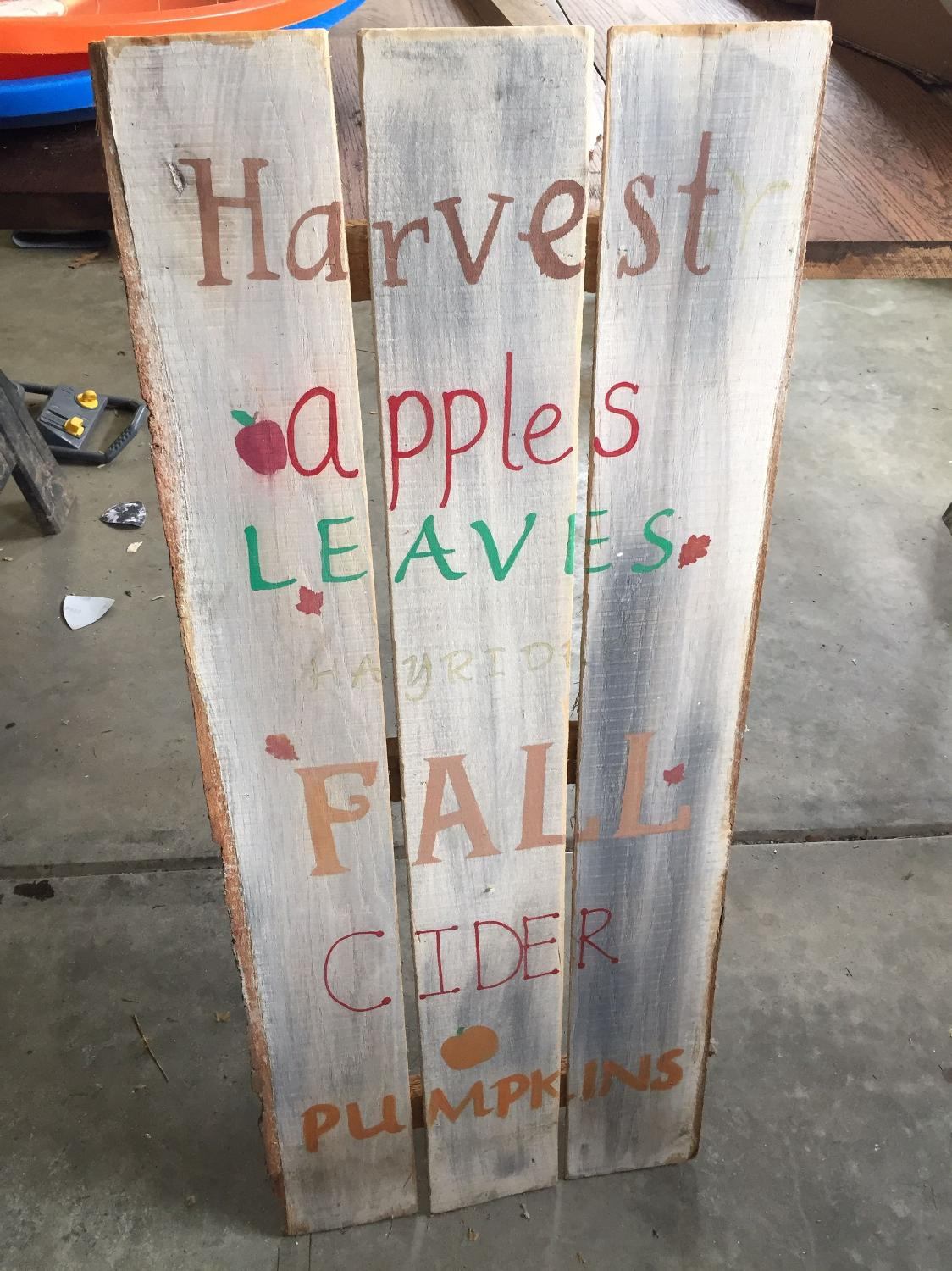 Best Fall Sign For Sale In Bloomington Indiana For 2017