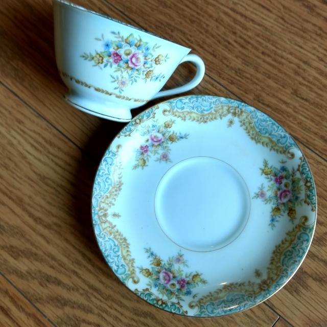 Made in Occupied Japan Tea Cup and Saucer