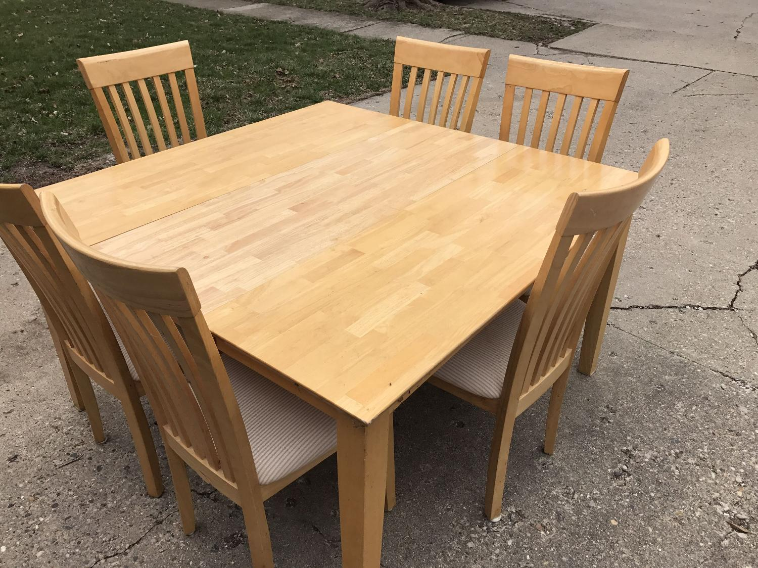 Find More Real Oak Table For Sale At Up To 90 Off Champaign Il