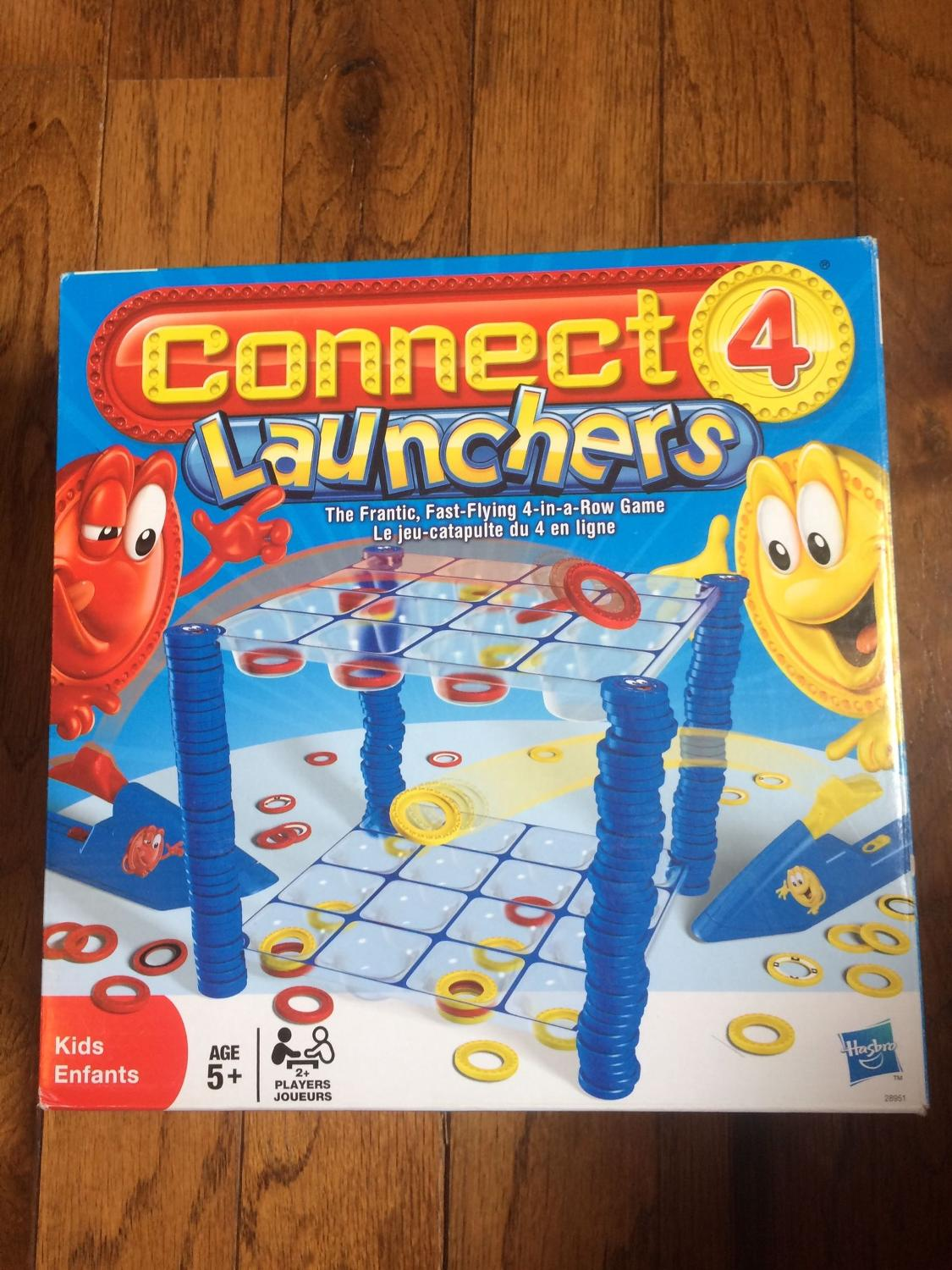 how to play connect 4 launchers