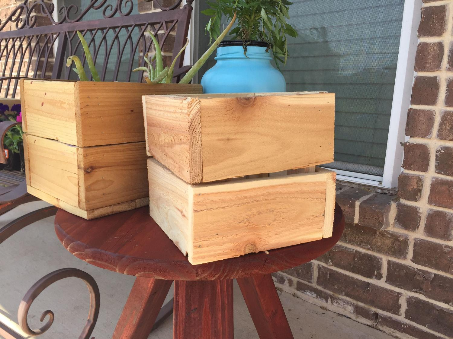 Best Small Cedar Planter Boxes For Sale In New Braunfels