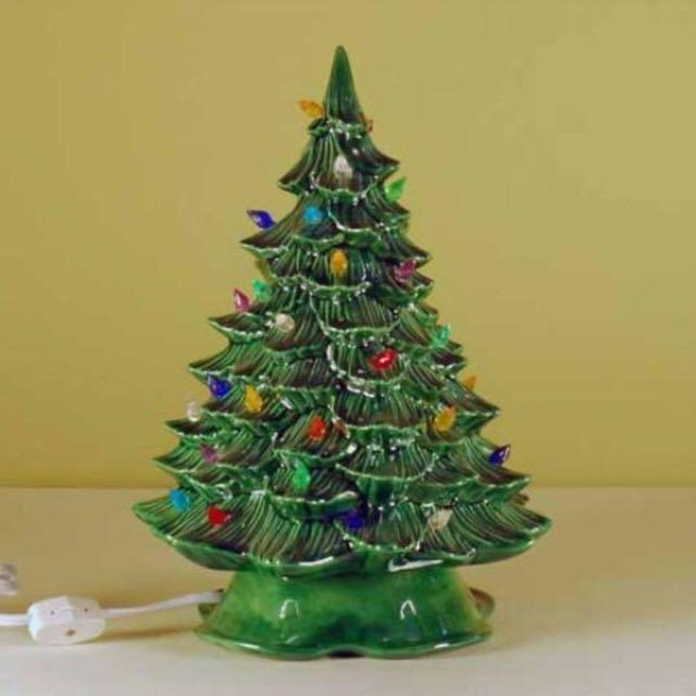 Best iso looking for a vintage ceramic christmas tree for for Best looking christmas tree