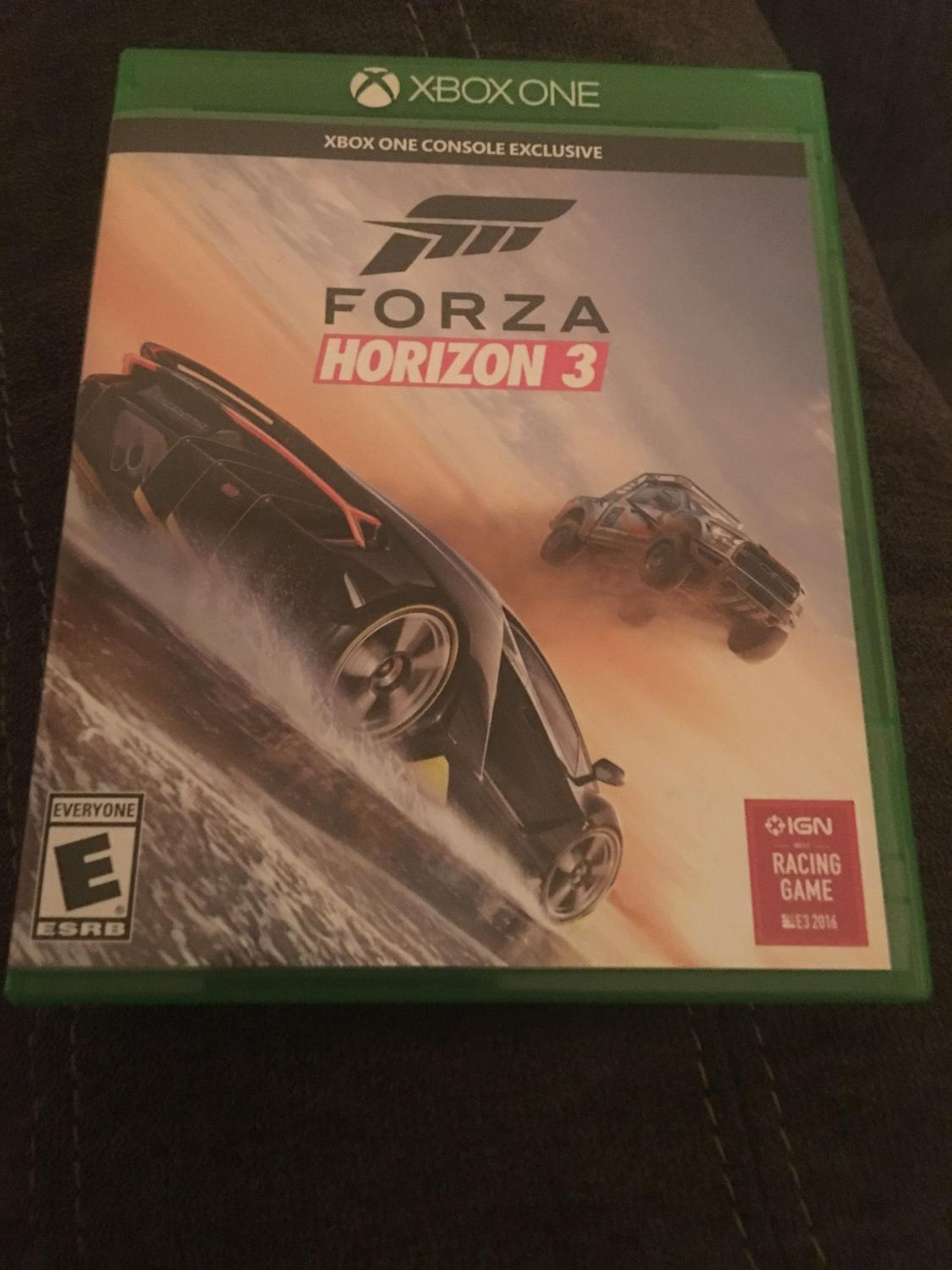 best forza horizon 3 xbox one for sale. Black Bedroom Furniture Sets. Home Design Ideas