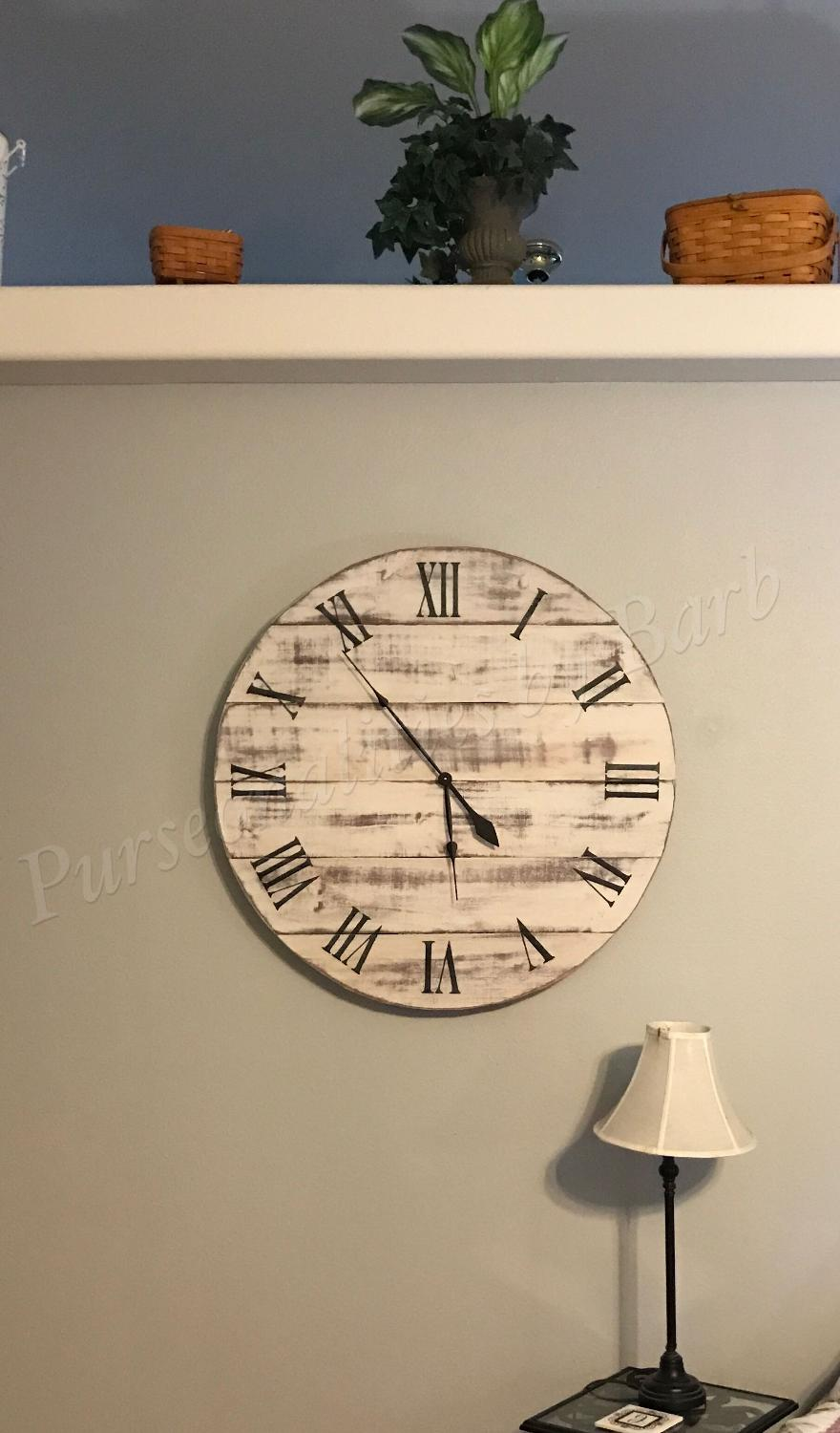Best Extra Large Wall Clock Hand Made For Sale In