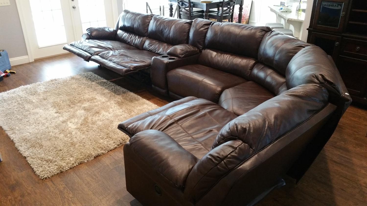 Best Ashley Furniture Leather Couches For Sale In Panama City Florida For 2017
