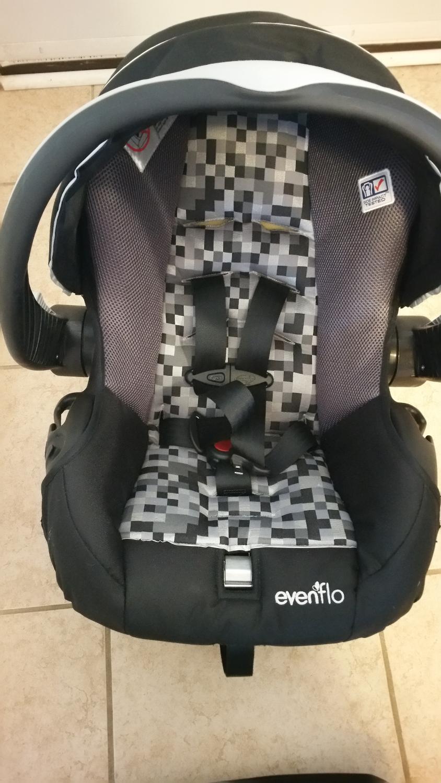 find more evenflo embrace 35 car seat for sale at up to 90 off bradford on. Black Bedroom Furniture Sets. Home Design Ideas