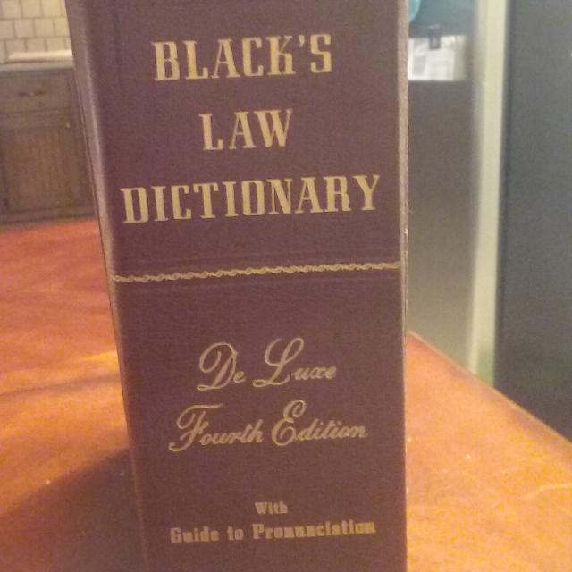 Black S Law Dictionary 4th Edition