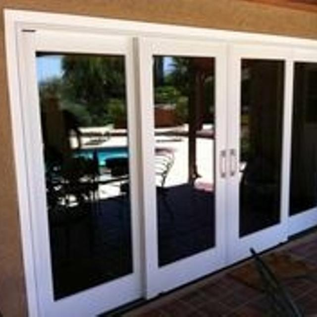 Pella Proline Quad Sliding Patio Door