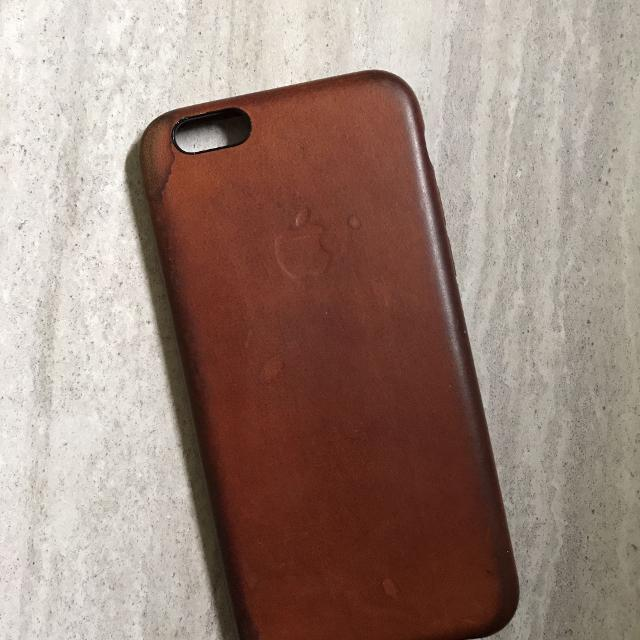 super popular e473b a3333 Apple iPhone 6/6s Saddle Brown Leather Case [REDUCED!!]