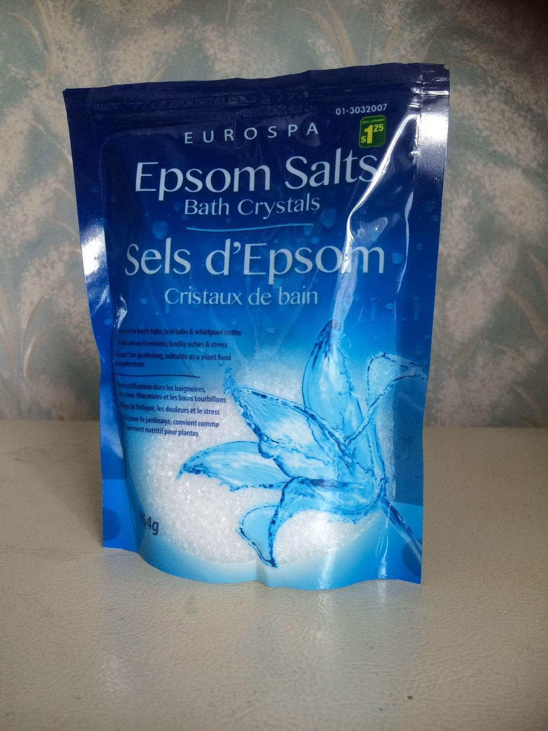 Find more New Epsom Salts for sale at up to 90% off