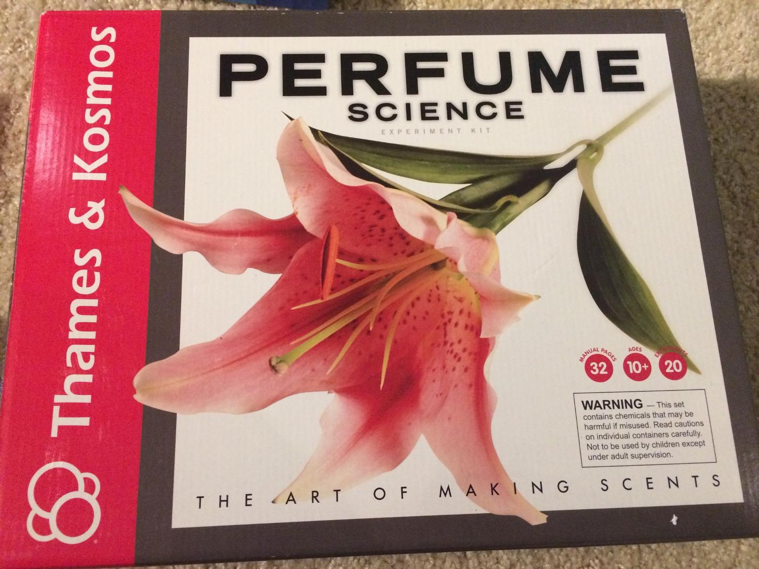 429da7941 Find more Price Drop! Brand New !thames And Kosmos Perfume Science ...
