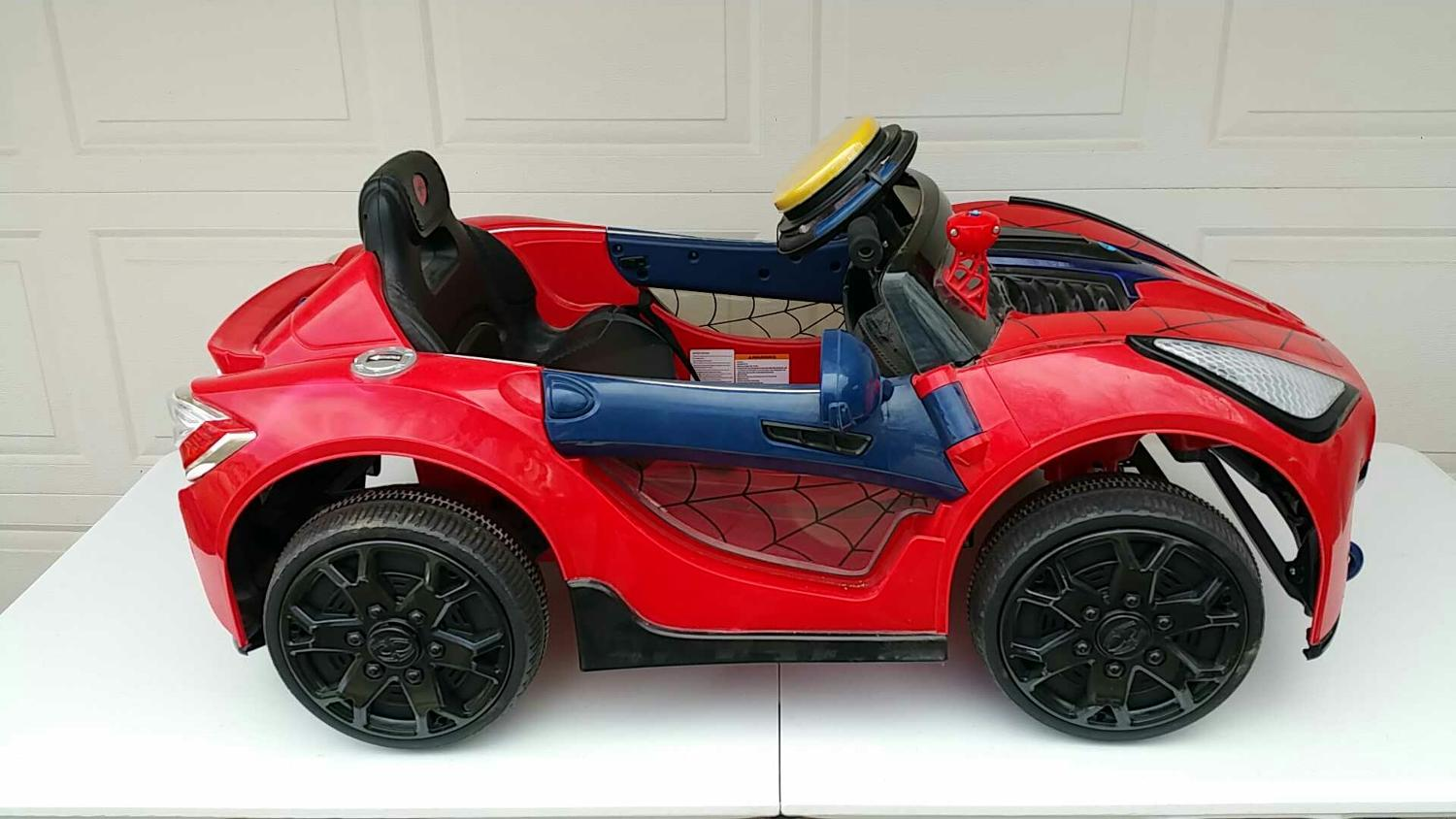 Find More Spiderman Electric Car Euc With Charger For Sale