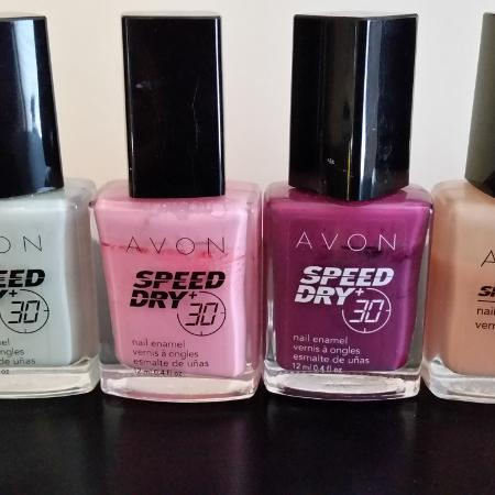 Avon nail polish, used for sale  Canada