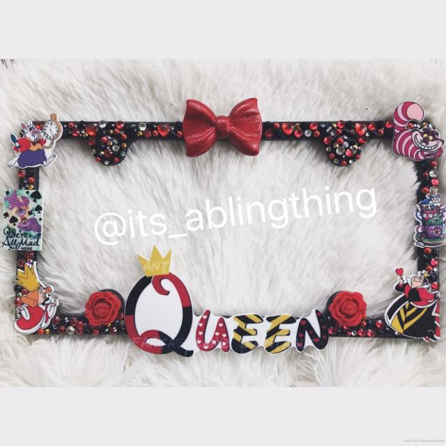 Best Bedazzled License Plate Frames for sale in Corona, California ...