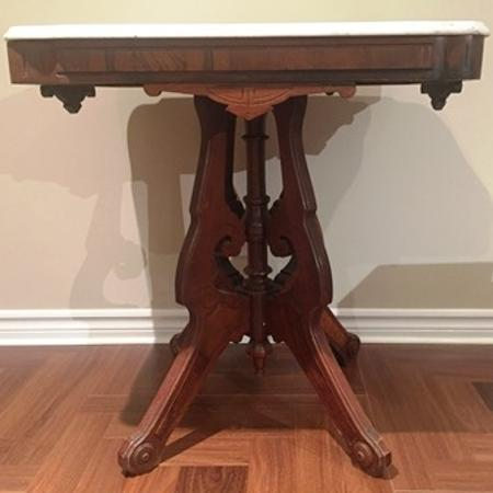 Used, ANTIQUE EASTLAKE WALNUT AND MARBLE... for sale  Canada