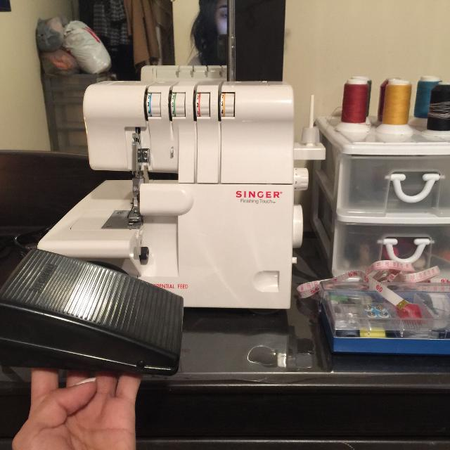 Find More Singer 400sh400 Finishing Touch 40040 Thread Serger For Sale Gorgeous Singer 14sh654 Finishing Touch Serger Sewing Machine