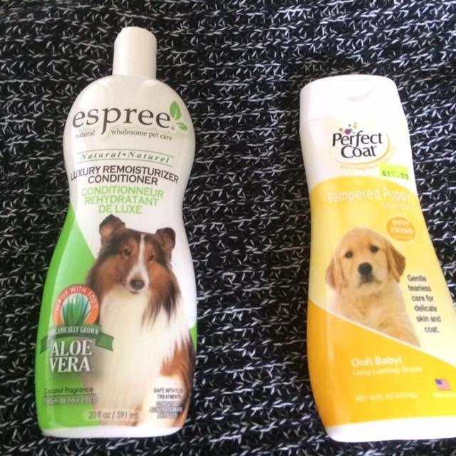Brand new shampoo and conditioner for dogs/puppies