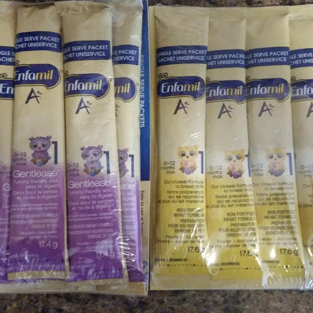 Enfamil samples free.