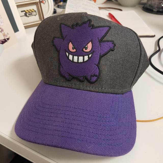 Find more Pokemon Gengar Snapback Hat for sale at up to 90% off e1c9b235c77