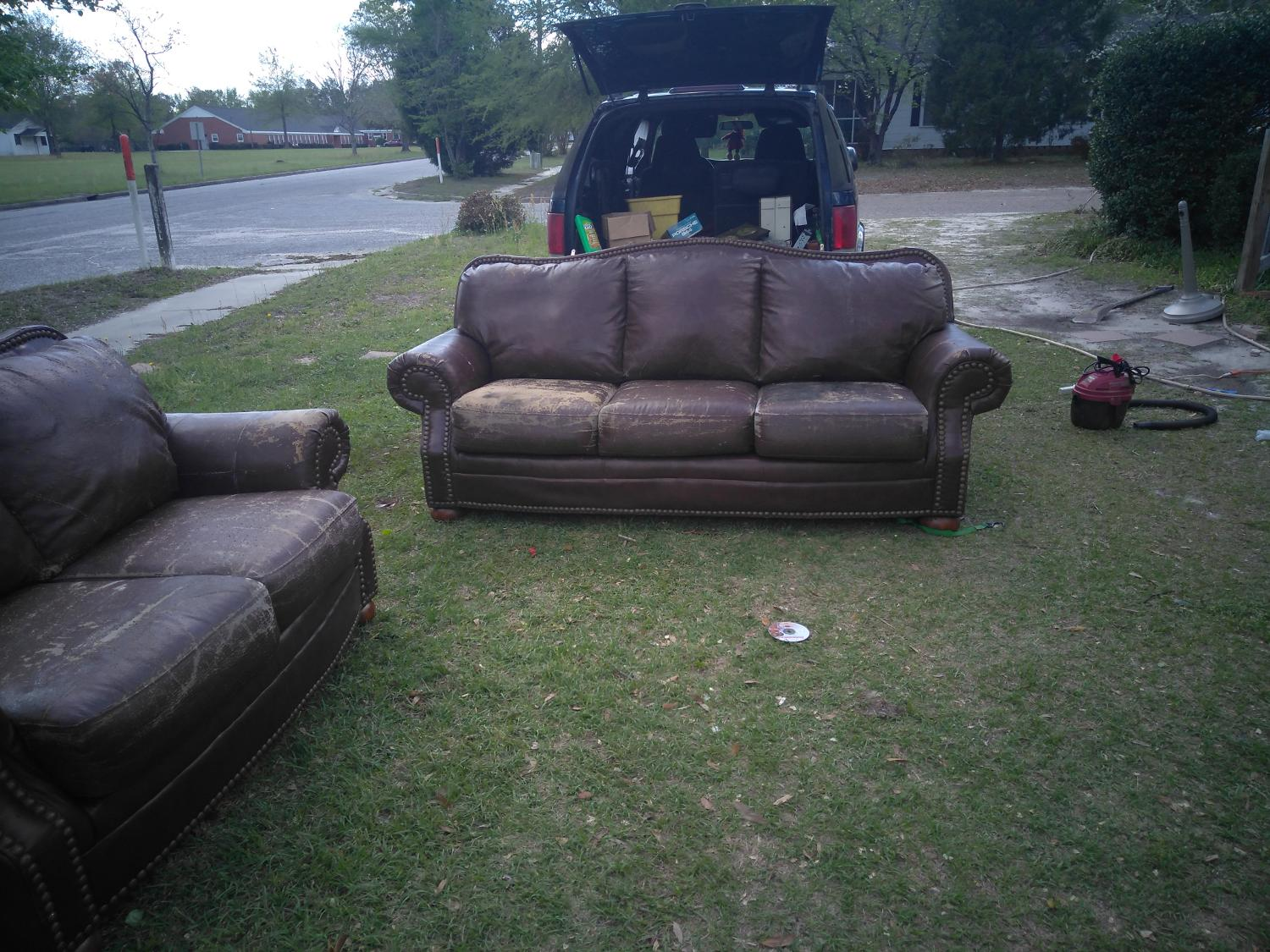 Find More Ashley Leather Sofa And Love Seat For Sale At Up To 90 Off Sumter Sc