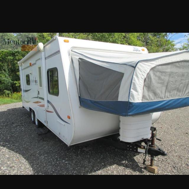 Best Used 2008 Jayco Jay Feather Exp 23b Hybrid Camper For In Lancaster Pennsylvania 2019