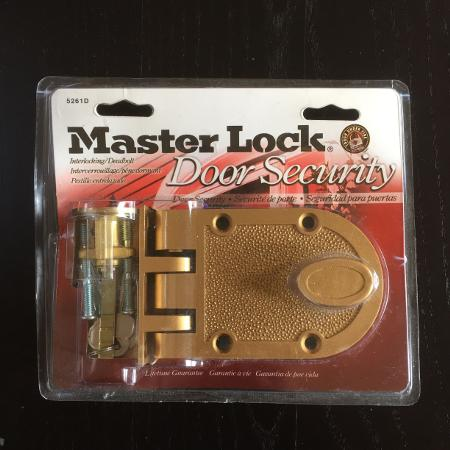 NEW Master Lock Interlocking Deadbolt for sale  Canada