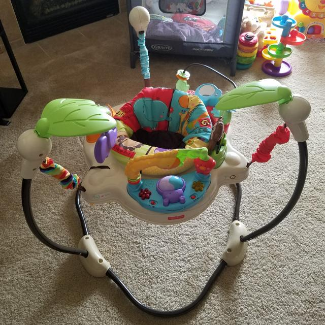 2e2686002f02 Find more Fisher-price Luv U Zoo Jumperoo for sale at up to 90% off