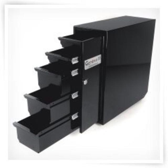 Truck Tool Box With Drawers >> Best Truck Tool Boxes By Geneva 5 Drawer Black Steel Powder Coated