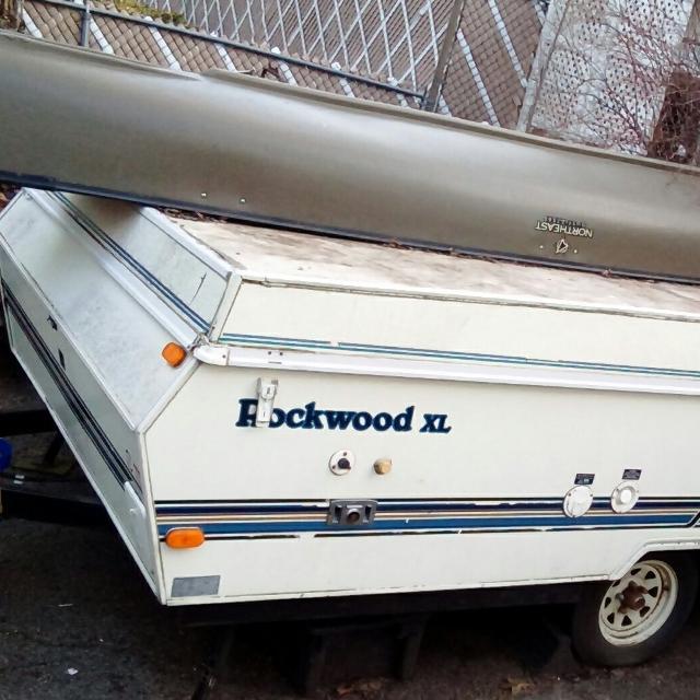 Best 1992 Rockwood Xl Pop Up Camper Trailer For Sale In Taunton