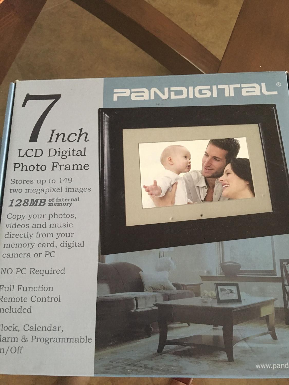 Best New In Box 7 Lcd Digital Photo Frame For Sale In Cypress