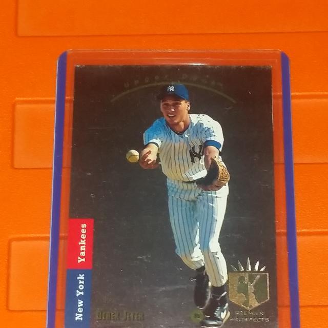 1993 Upper Deck Sp Derek Jeter Rookie Card