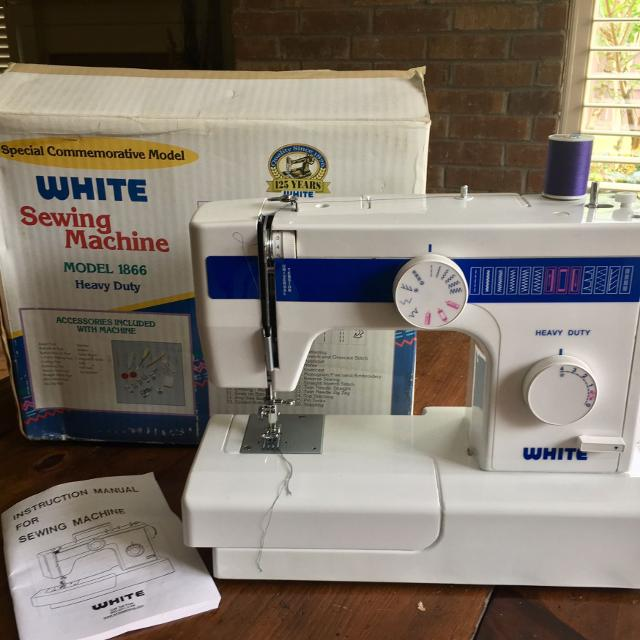 Find More Sewing Machine White Model 40 For Sale At Up To 40% Off Delectable White Heavy Duty Sewing Machine