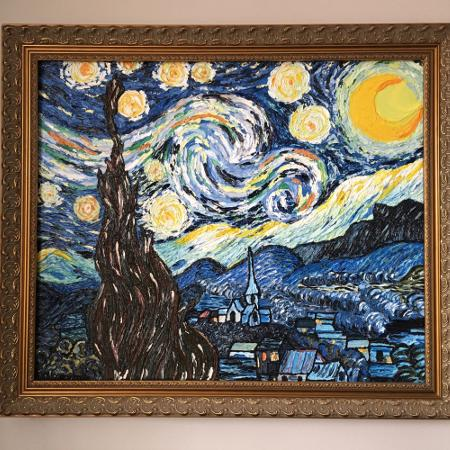 Authentic Oil Replica of Starry Night... for sale  Canada