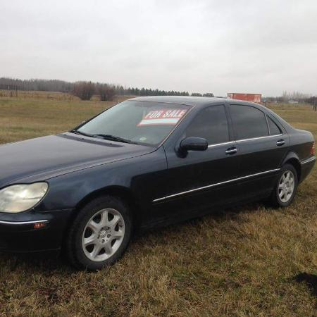 2000 Mercedes S500 only 180km every... for sale  Canada