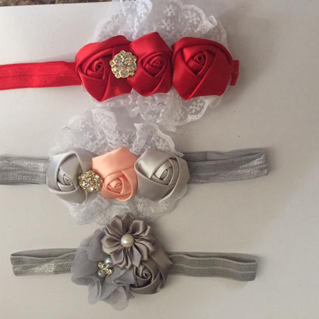 Find more 3 Homemade Headbands  2 Each for sale at up to 90% off 45ae96c99a1