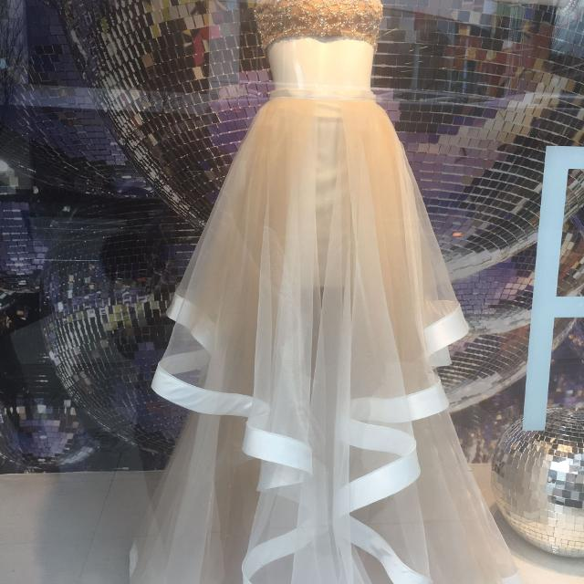Two Piece Prom Or Wedding Shower Dress