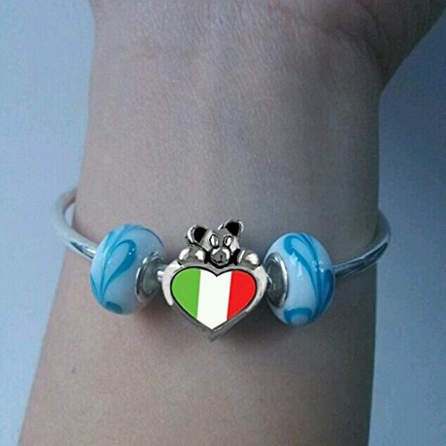 Find More Italian Flag Italy I Love You Pandora Charm For Sale At Up