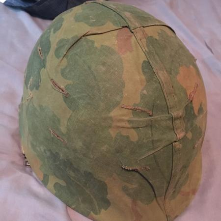 Used, American M1 Helmet from the Vietnam War for sale  Canada