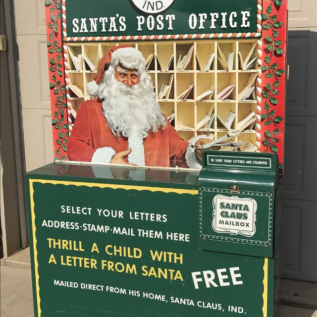 letters to santa mailbox for sale find more santa claus metal post office amp mailbox vintage 24455 | 30f57ad70c127682601c4d1f3b9d1551