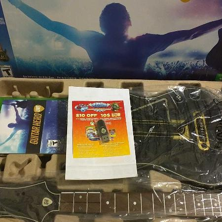 Used, Xbox one Guitar Hero live. for sale  Canada