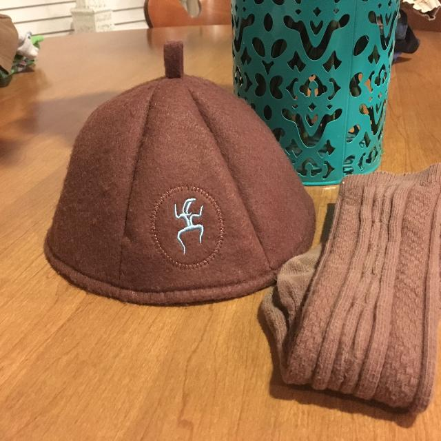 3a84804c769b0 Best Brownie Girl Scout Beanie Size Medium And Long Girl Scout Socks!! for  sale in New Braunfels