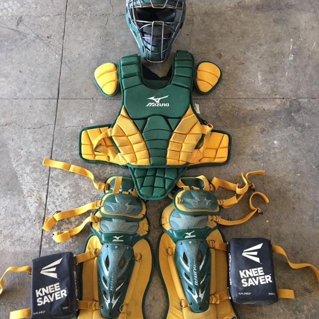 Find More Price Reduced Mizuno Samurai Youth Catchers Gear With Bag