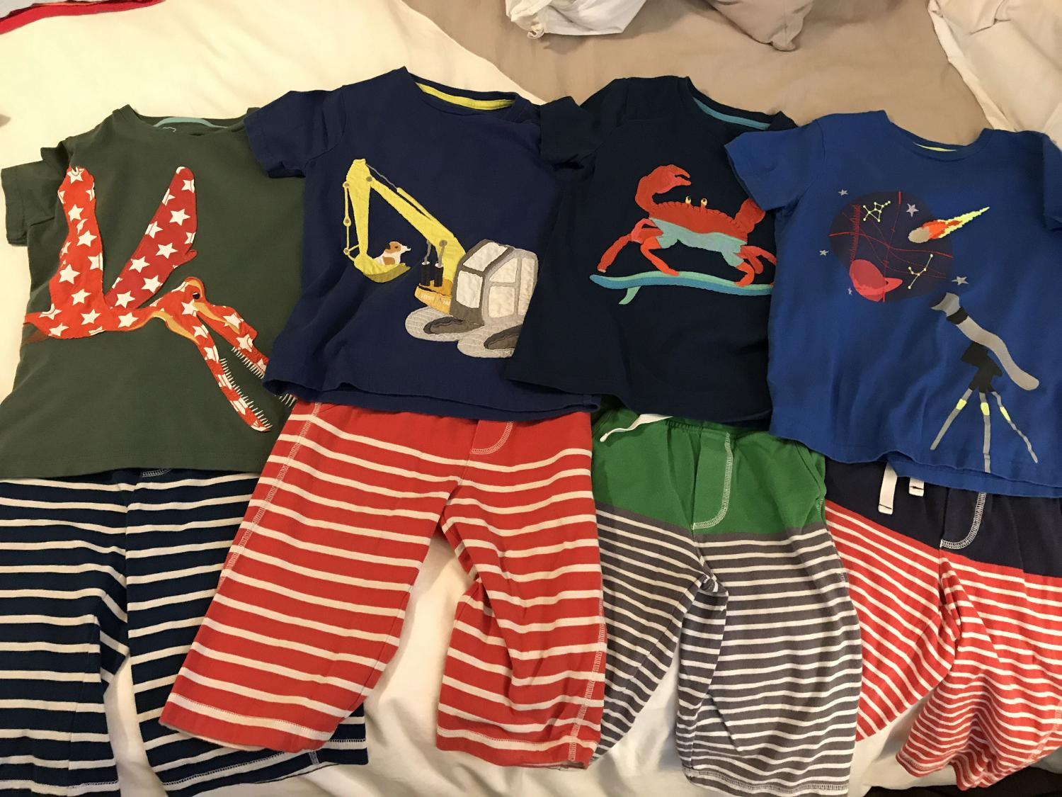 Find more mini boden appliqué tees and jersey baggies! boys 6 7 for