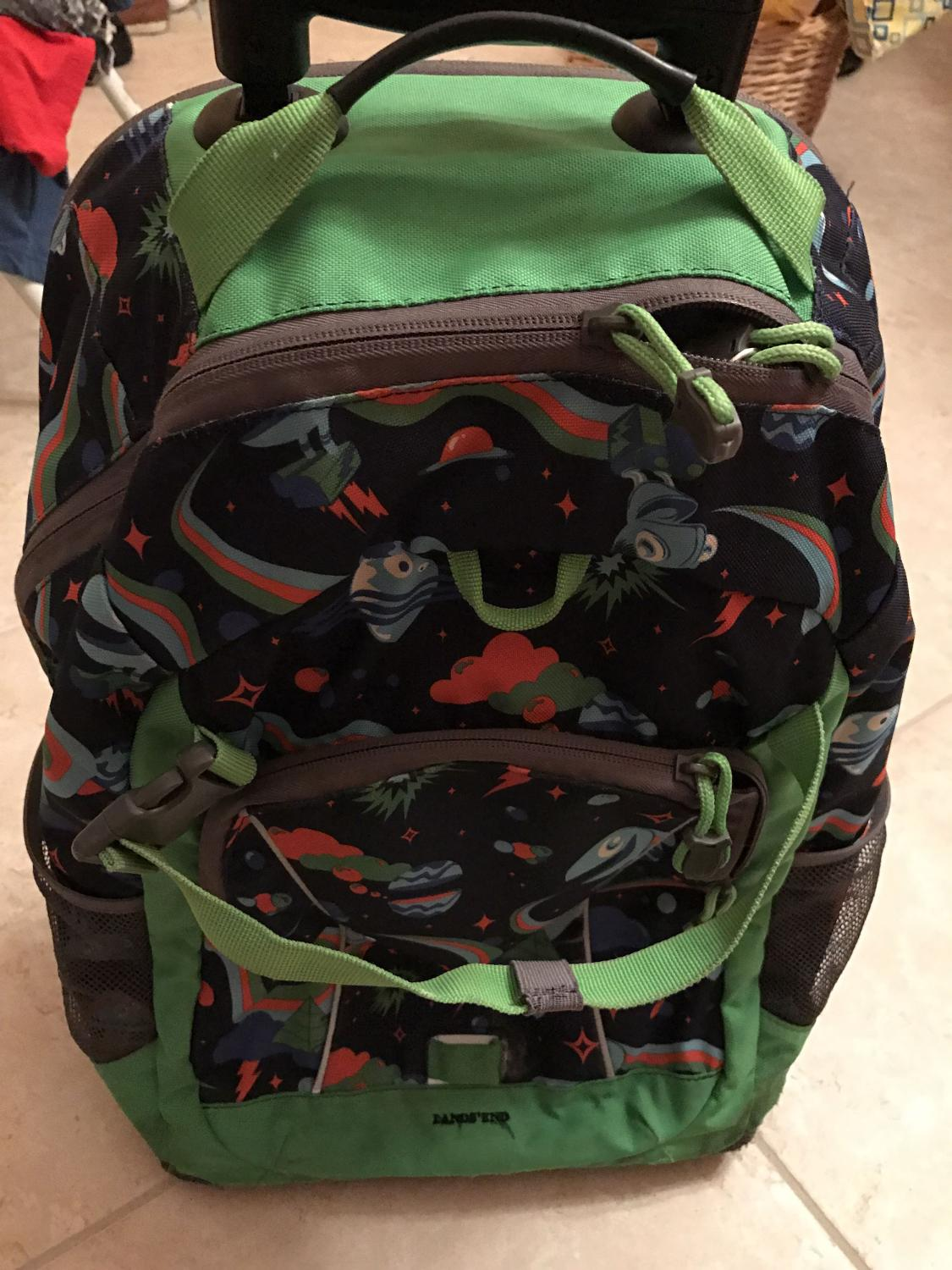 Buy Rolling Make Up Artist Bag With Seat: Find More Rolling Backpack 3$ Lands End For Sale At Up To